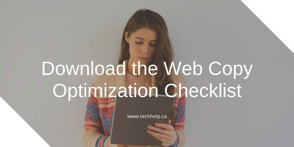 content optimization checklist