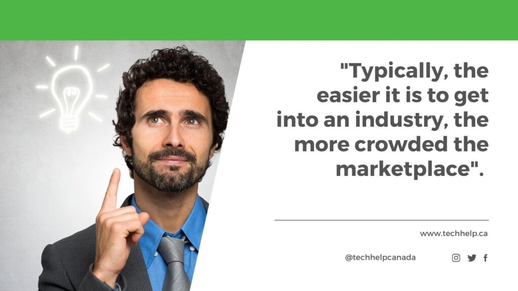 Business ideas article quote.